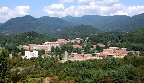 10. Western Carolina University – Cullowhee, North Carolina