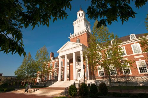 27. Johns Hopkins University – Baltimore, Maryland