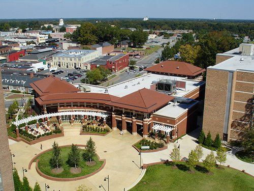9. East Carolina University – Greenville, North Carolina