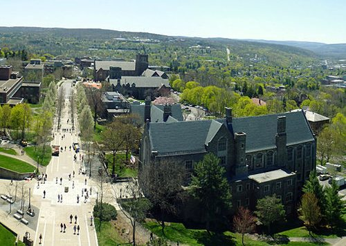 29. Cornell University - Ithaca, New York