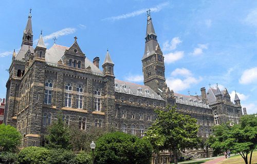 35. Georgetown University - Washington, D.C