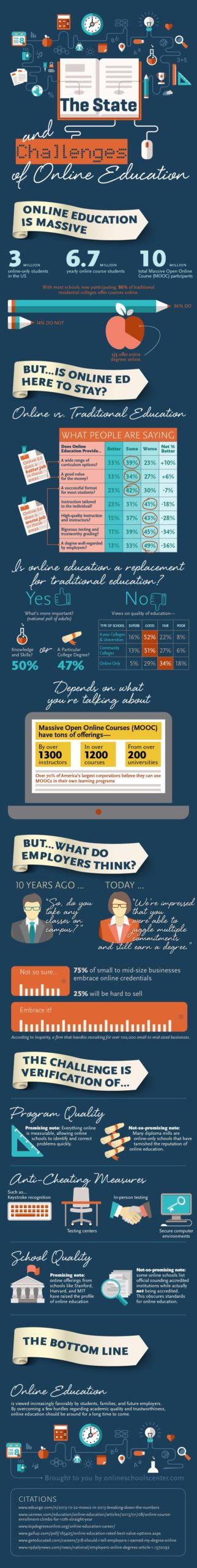 online education issues