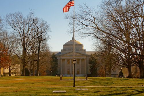 19. The University of North Carolina at Chapel Hill – Chapel Hill, North Carolina
