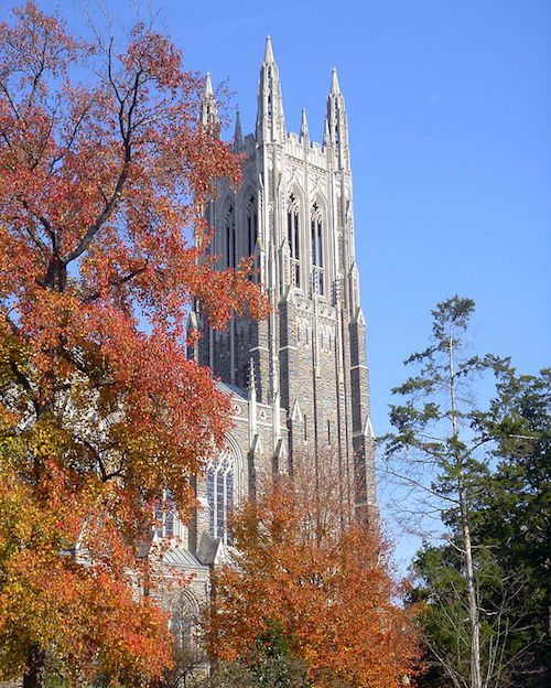 21. Duke University – Durham, North Carolina