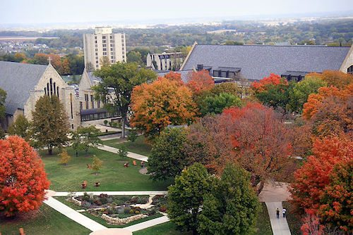 9. St. Olaf College – Northfield, Minnesota