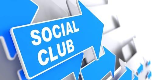 virtual social clubs for online students