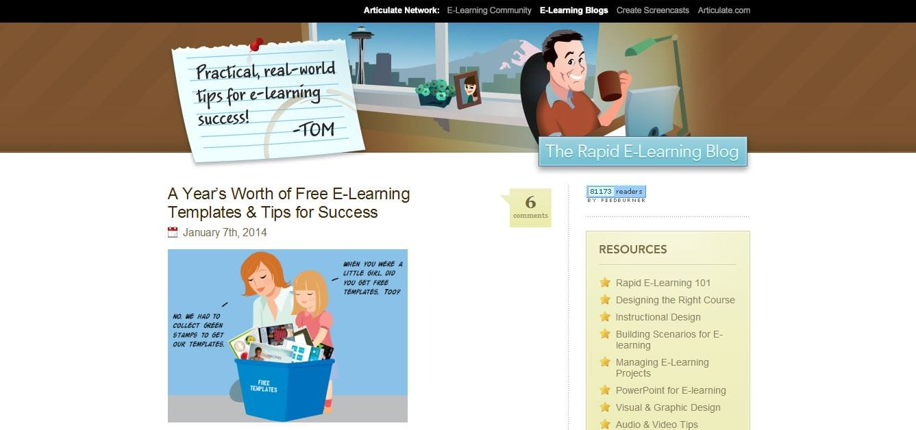 rapid e-learning blog- college online resources