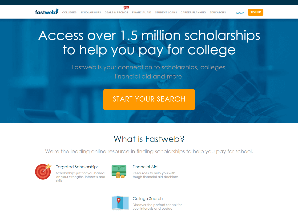 fastweb- college online resources