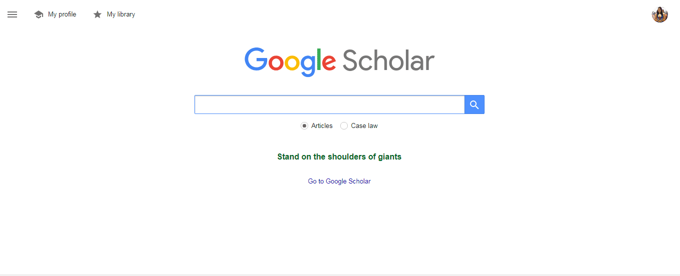 PhD students- google scholar