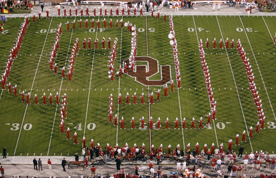 25 Outstanding College Marching Bands