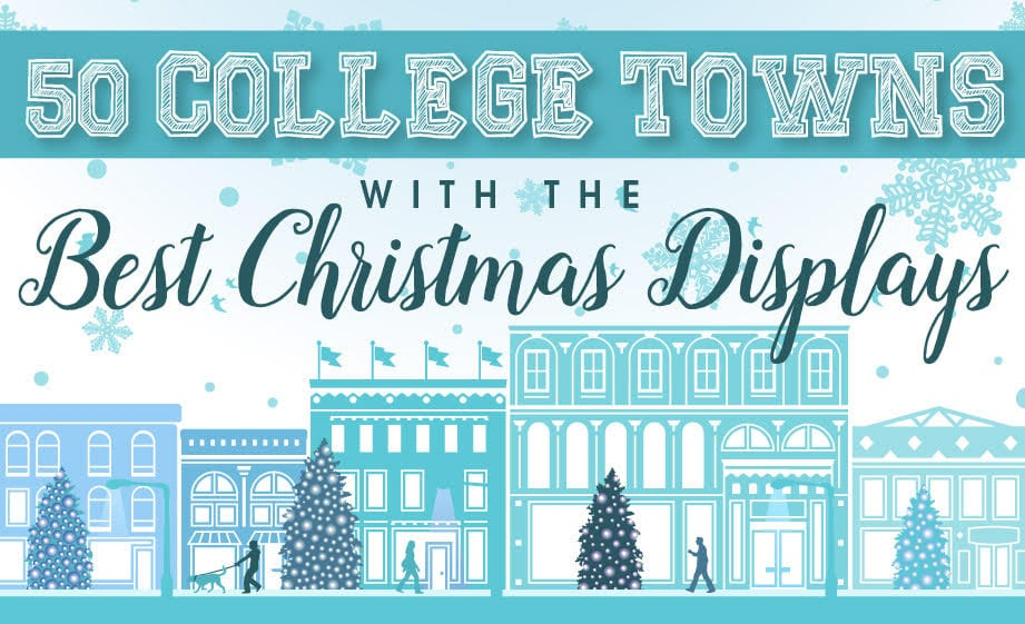 College Towns with the Best Christmas