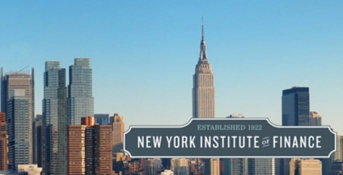 New York Institute of Finance - fastest online certificate degrees