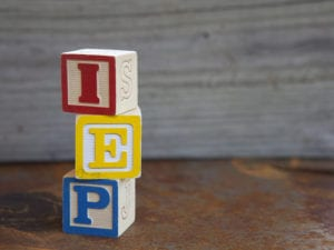 special education teacher IEP