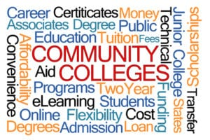 associates degrees community colleges
