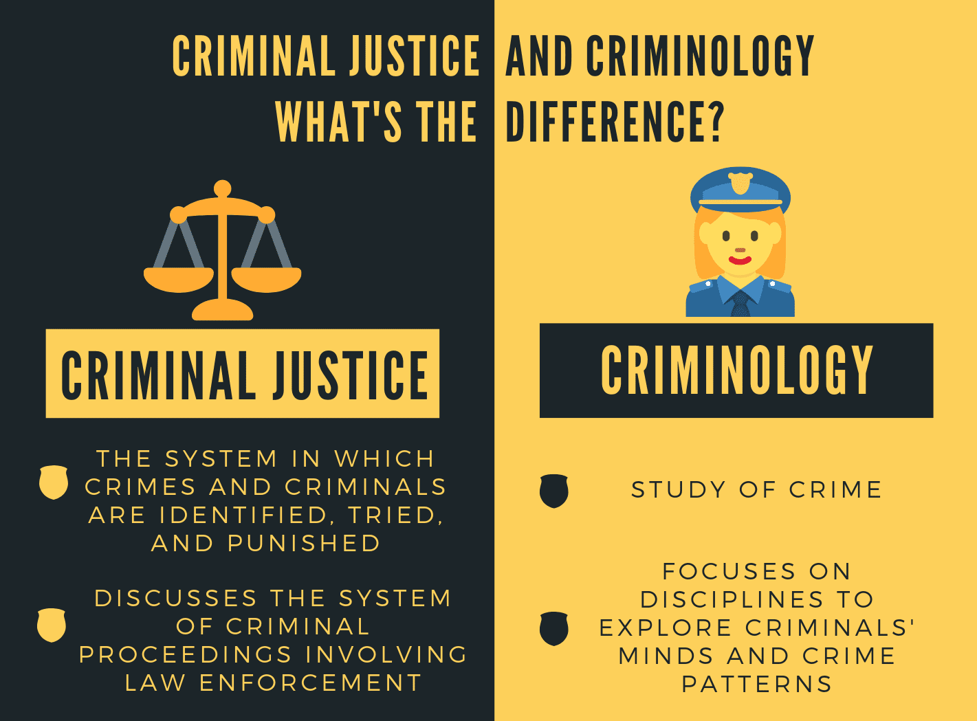 2021 Criminal Justice Career Salary And Degree Guide