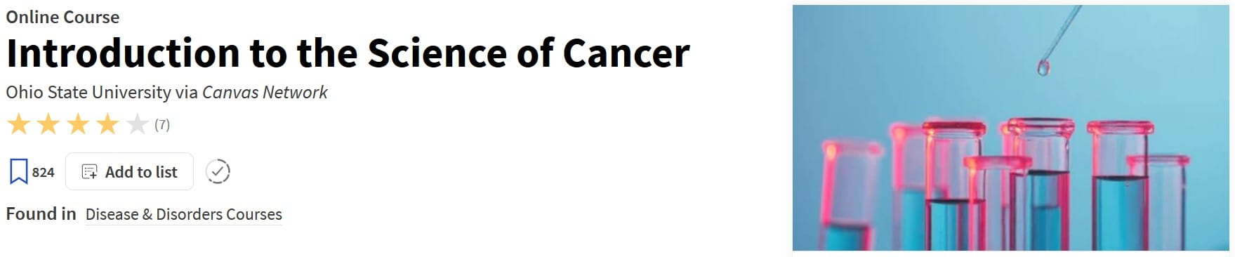 Introduction to the Science of Cancer