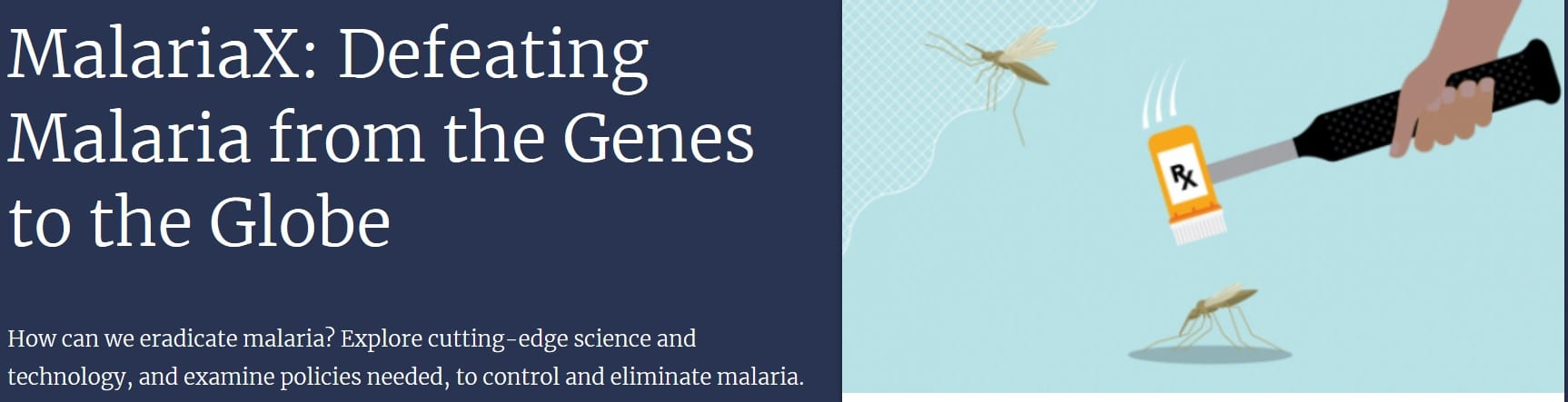MalariaX - Defeating Malaria from the Genes to the Globe