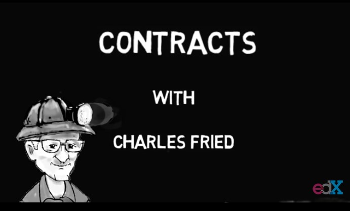 Contract Law - From Trust to Promise to Contract