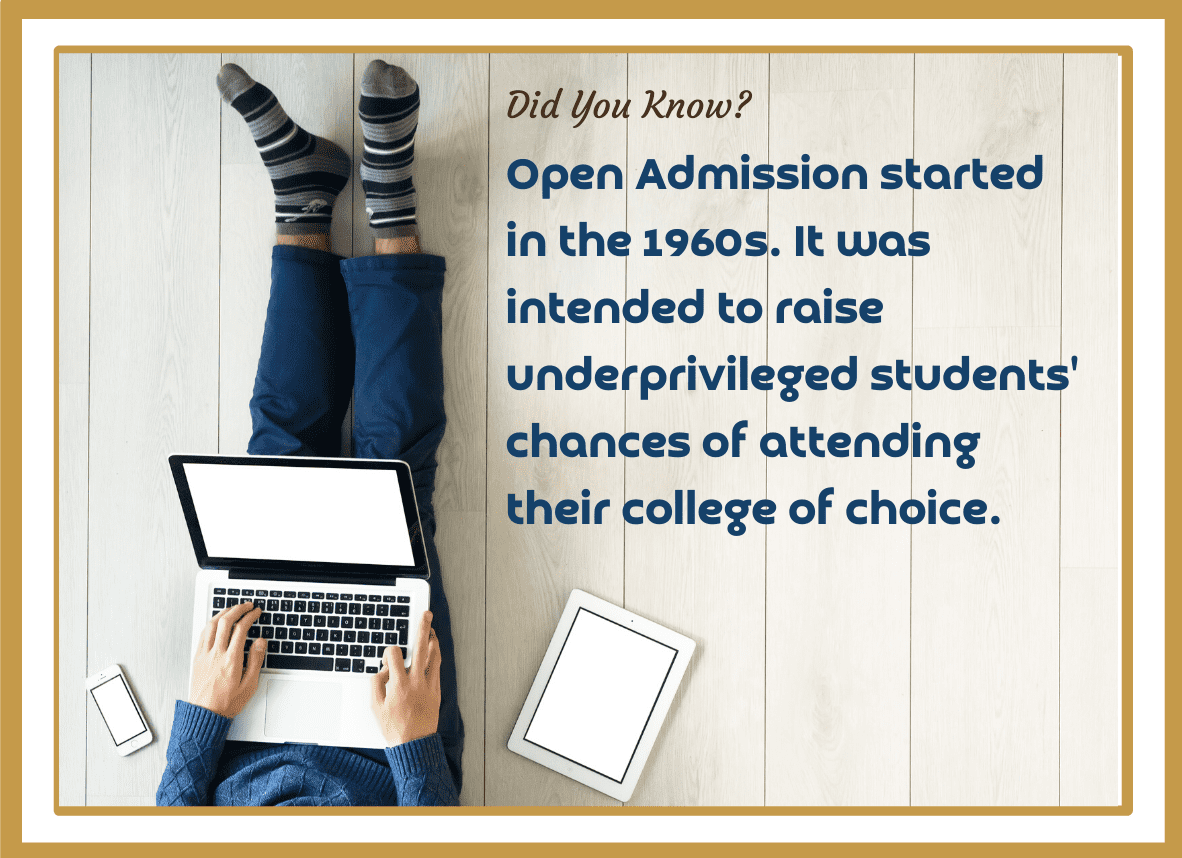 open admission fact 4