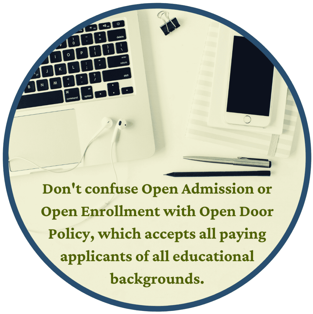 open admission fact 5
