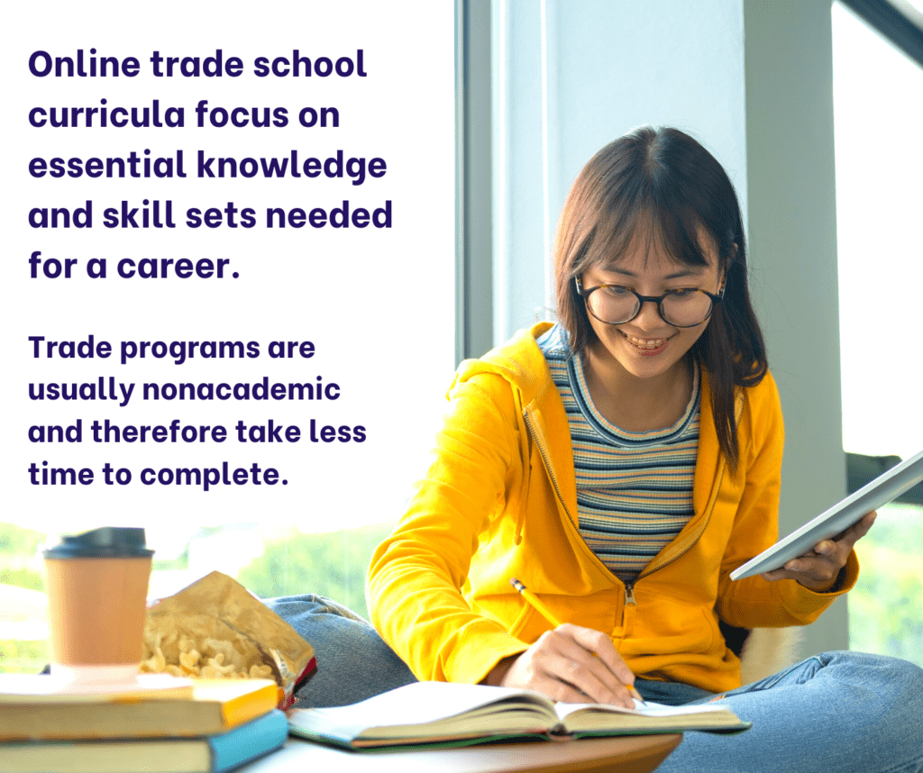 Online Trade Schools Worth fact 3