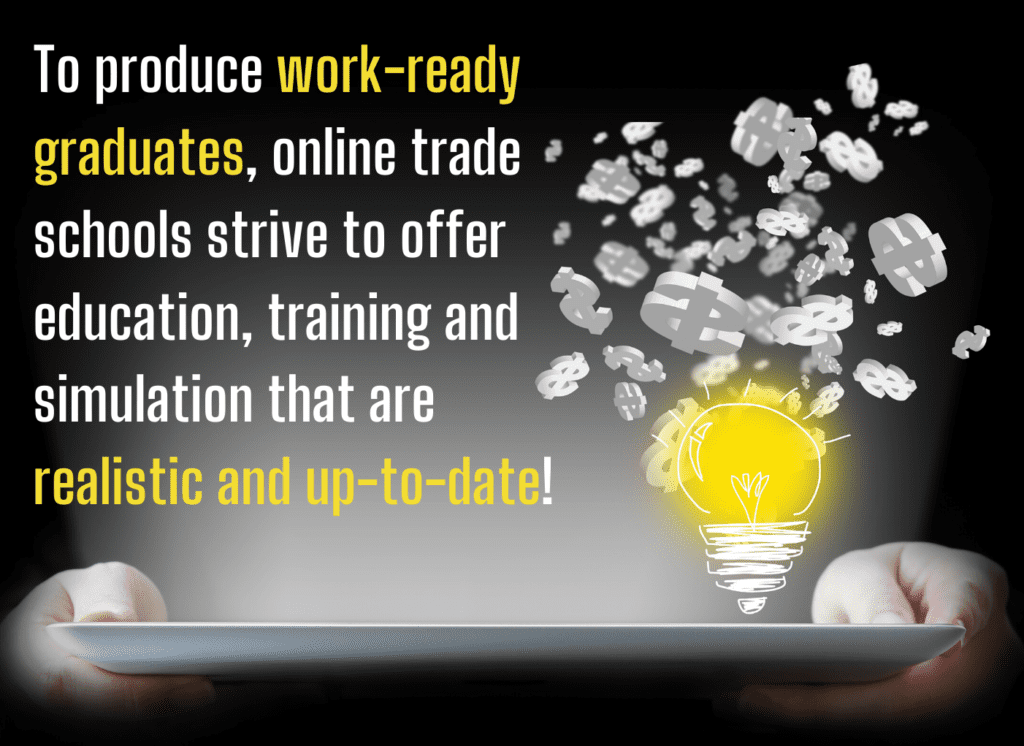 Online Trade Schools Worth fact 4