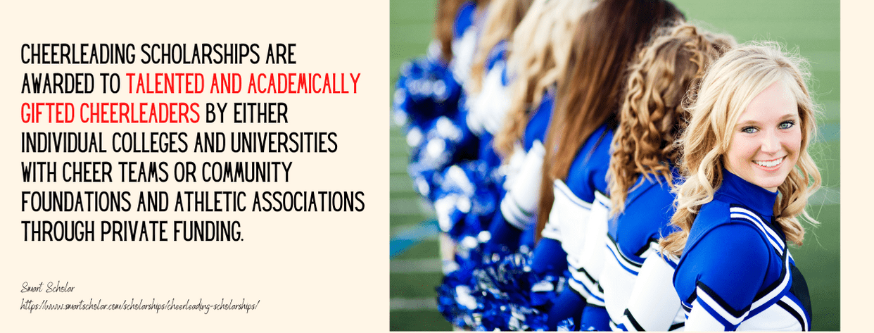 Cheerleading Scholarships fact 1