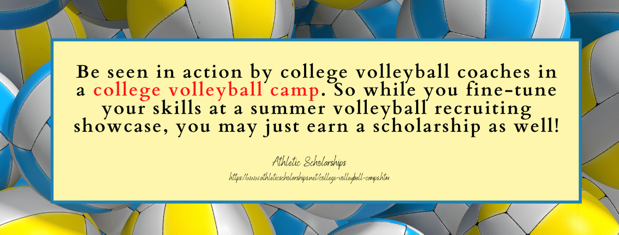 Girls Volleyball Scholarships - fact 4
