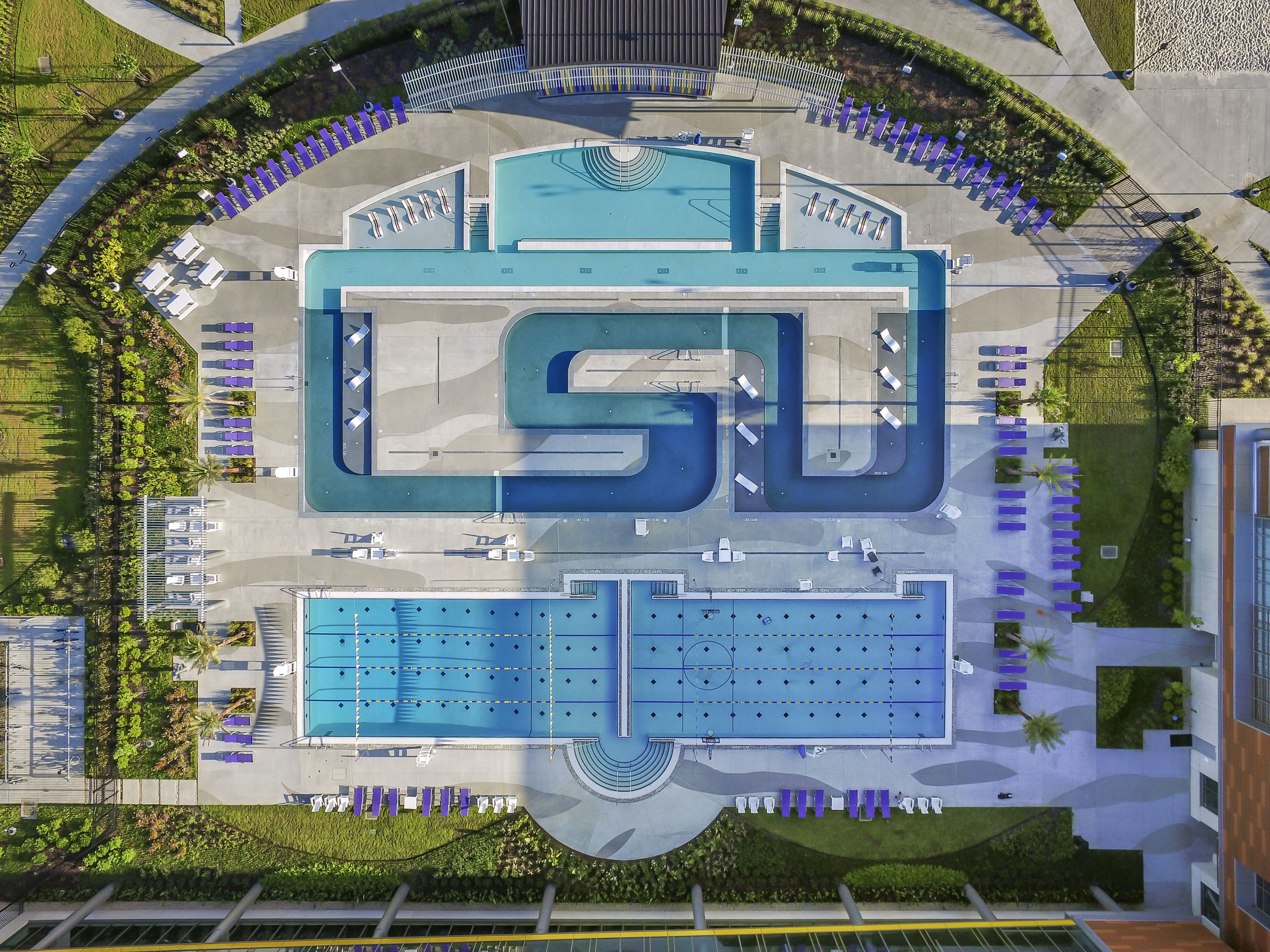 college swimming pool