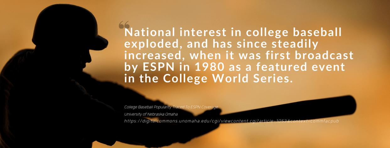 college baseball scholarship