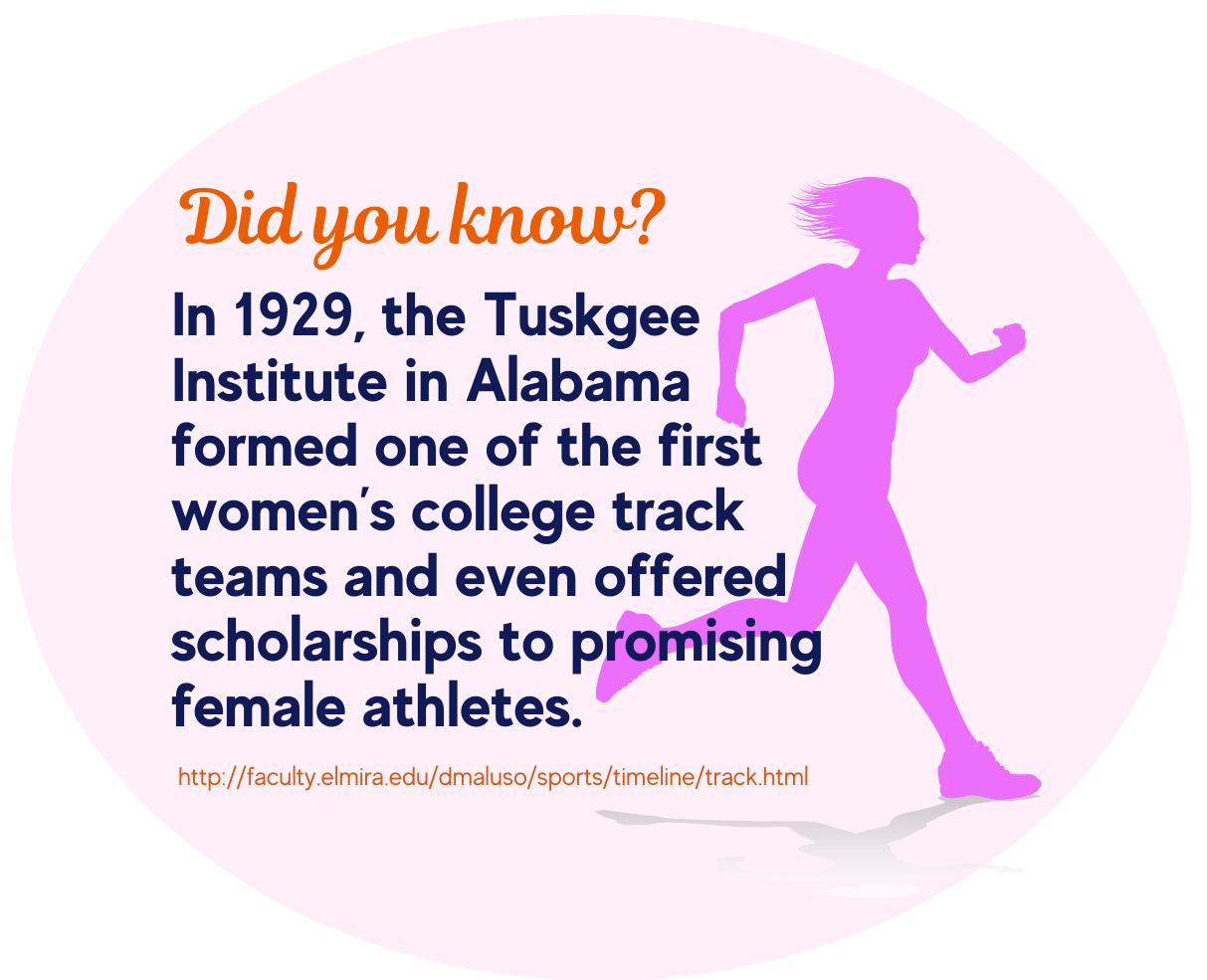 Women's Track and Field Scholarship-fact 1