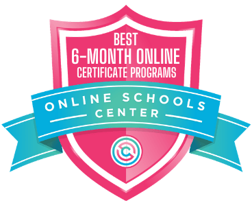6-Month Online Certificate Programs - Badge