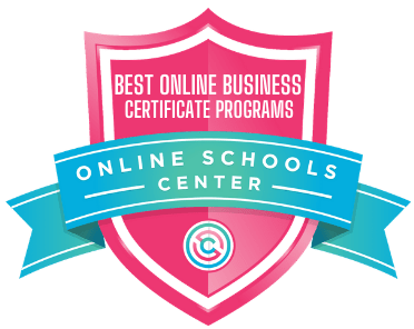 Online Business Certificate Programs - Badge